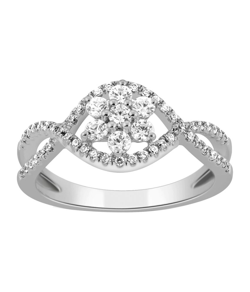 Kama Jewellery Reesa Contemporary 18kt Gold Ring