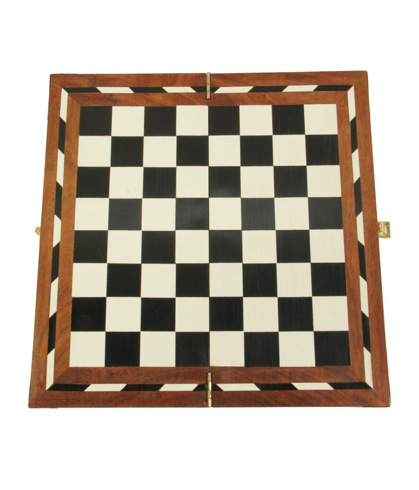 Avm 18 Inch Acrylic Folding Chess Board Without Coins