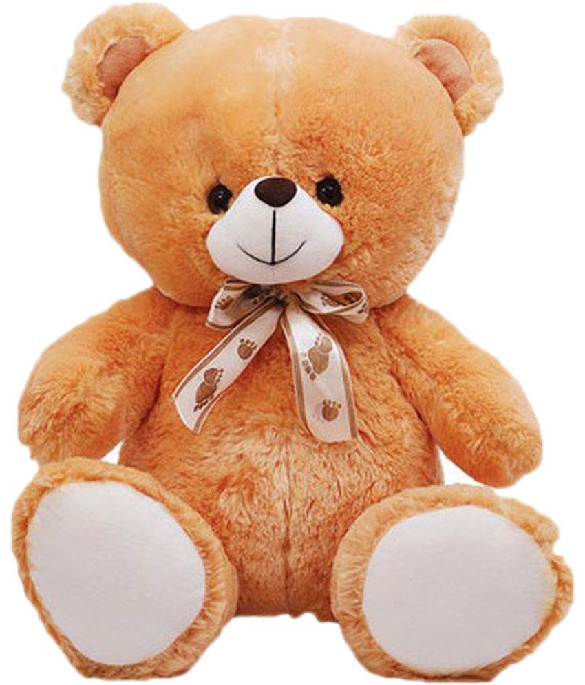 eaafc6ff2c6 Grj India Brown Teddy Bear With Valentine stuffed Heart love soft toy  cushion pillow for boyfriend