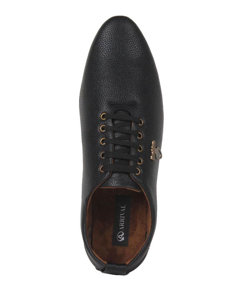 Kraasa Brown Faux Leather Men's Casual