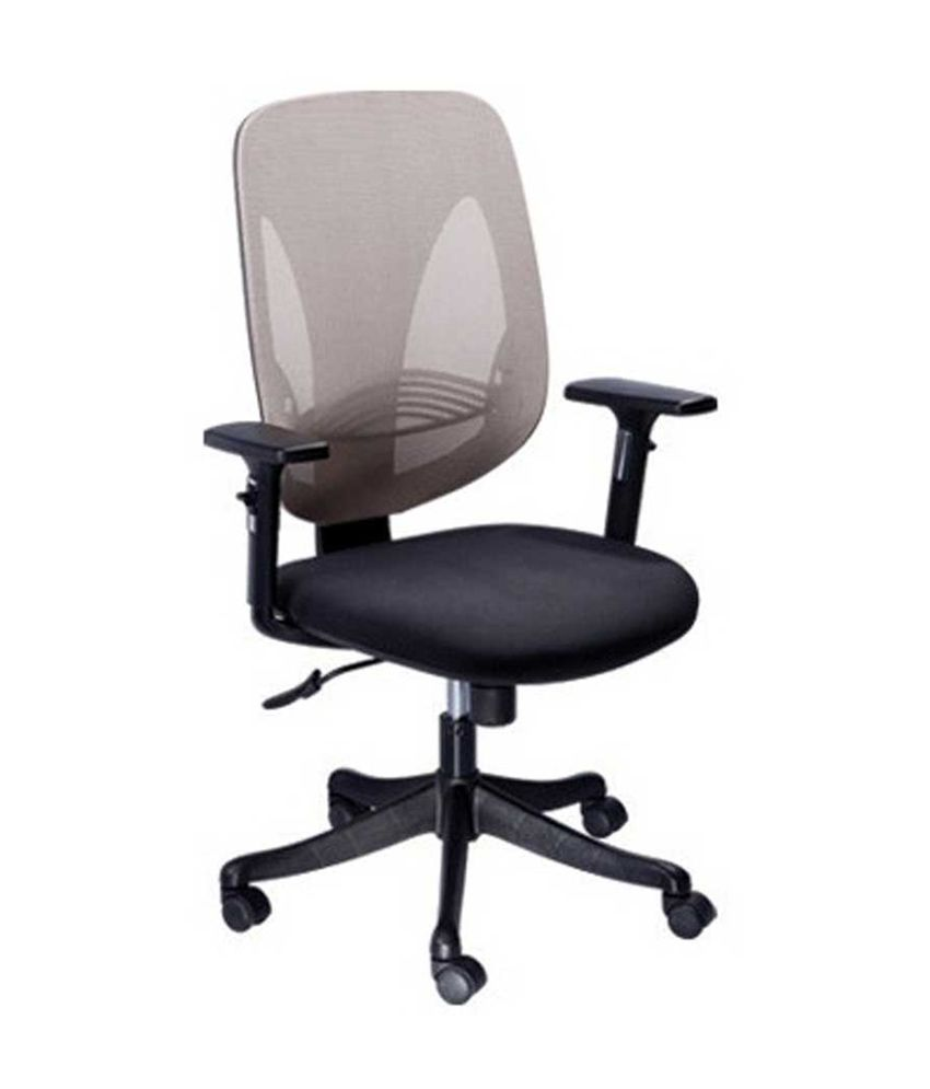 Mavi natural finish office chairs in gray buy