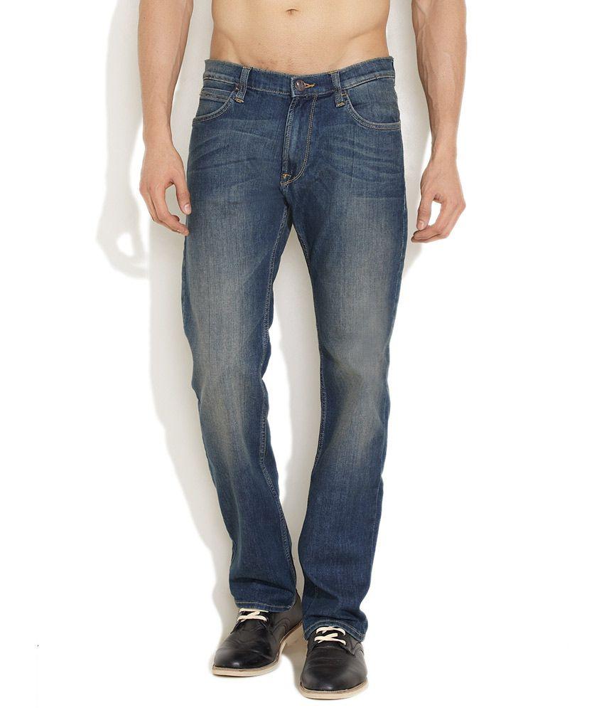 Lee Sky blue Urban Rider Jeans