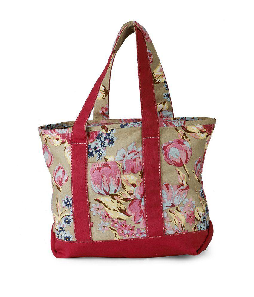 Sunny Accessory Cotton Medium Tote Bag