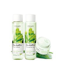 Orilame Love Nature Aloe Vera 3 In 1 Facial Kit
