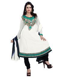 White Salwar Suits: Buy White Salwar Kameez Online at Low Prices in