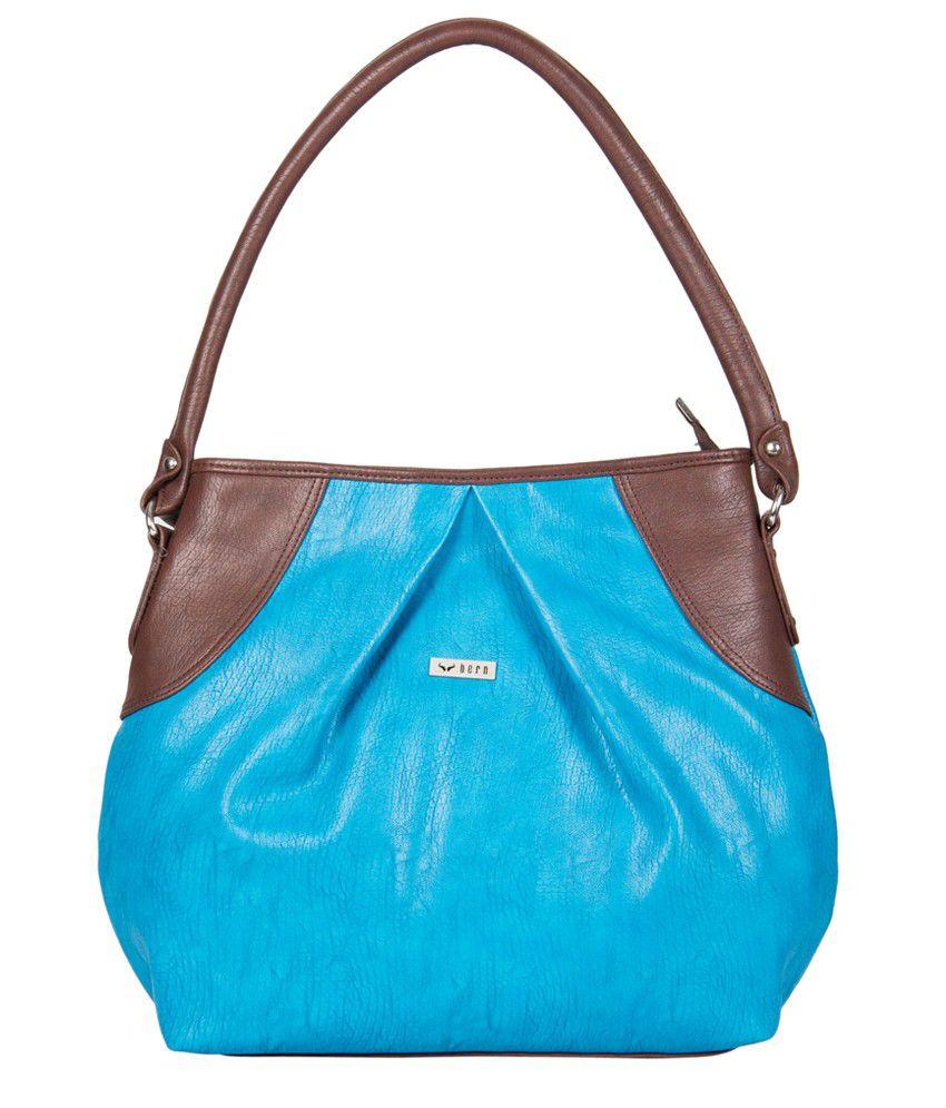 Bern Br4172tubr Blue Handbags