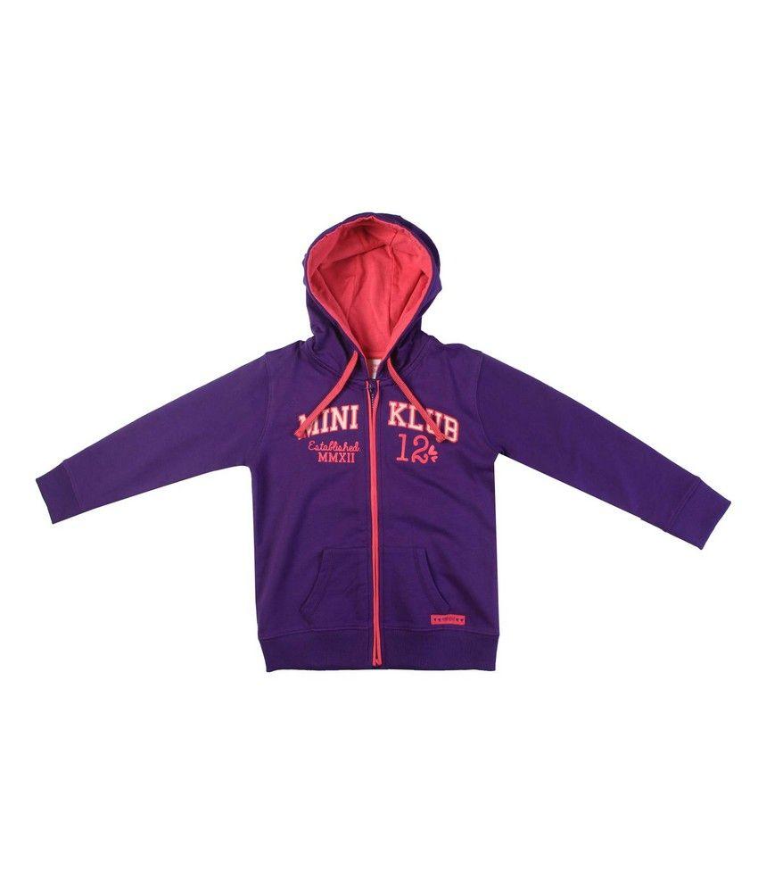 F S Mini Klub Violet Sweatshirt