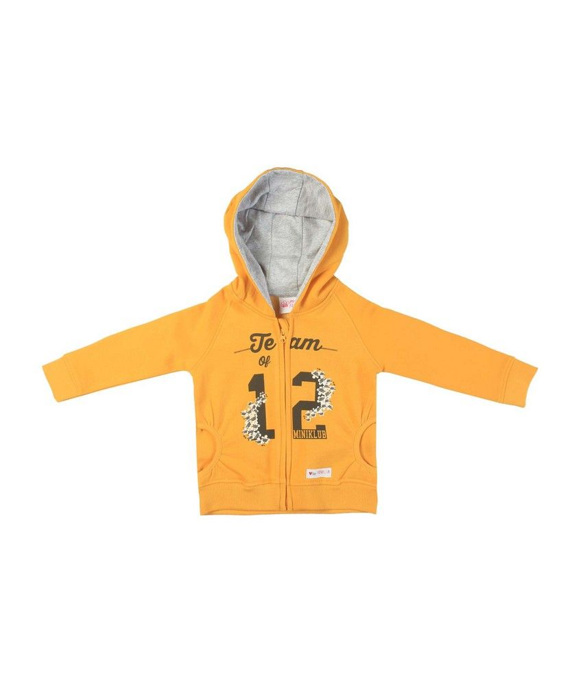 F S Mini Klub Yellow Sweatshirt