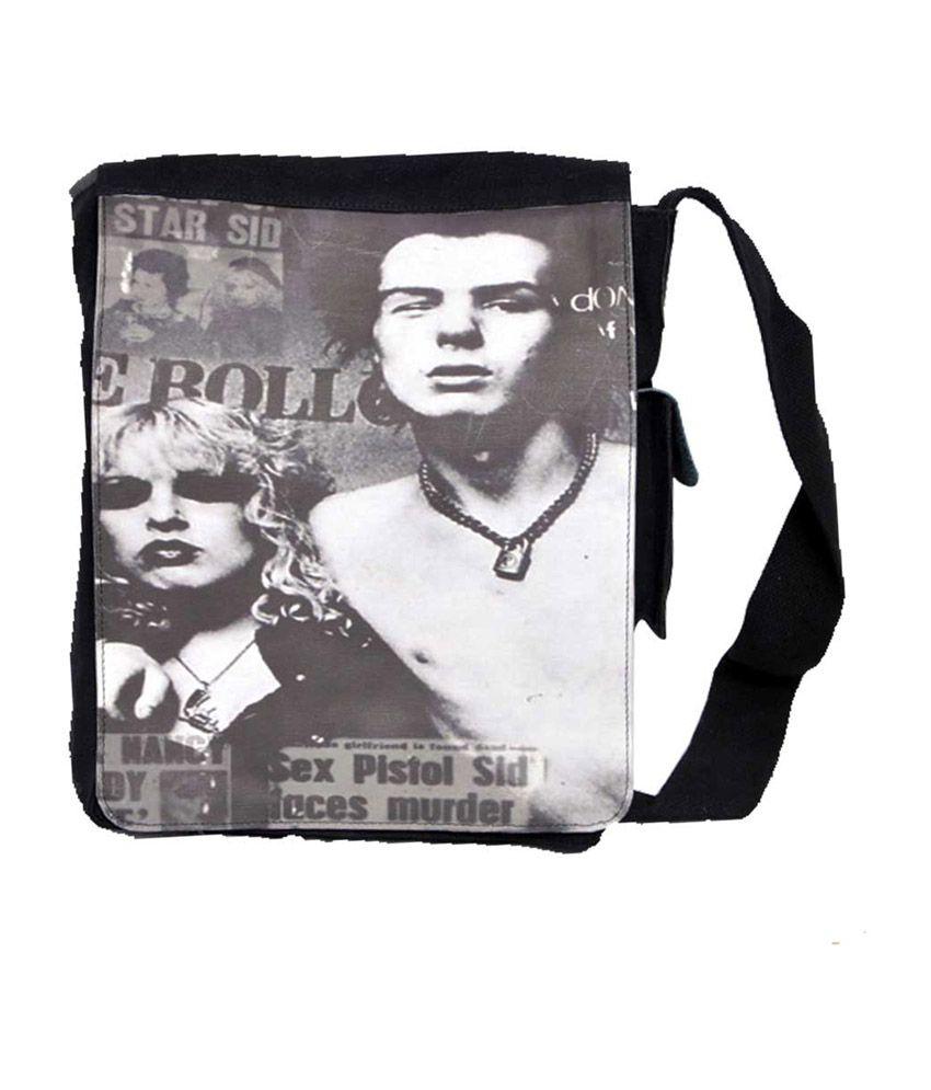 Leo 111408130065 Black Sling Bags