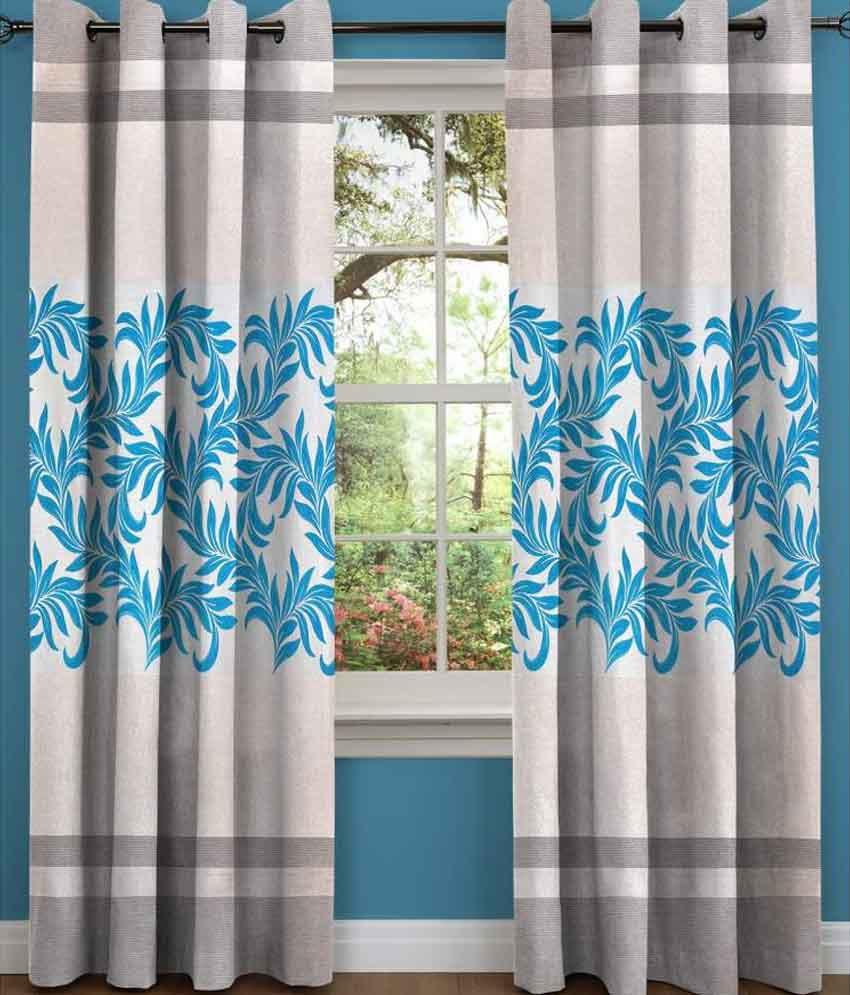 Sn Home Decor Single Window Eyelet Curtain