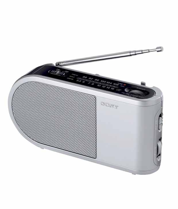 Buy sony icf 304 2 band transistor radio online at best for Icf pricing