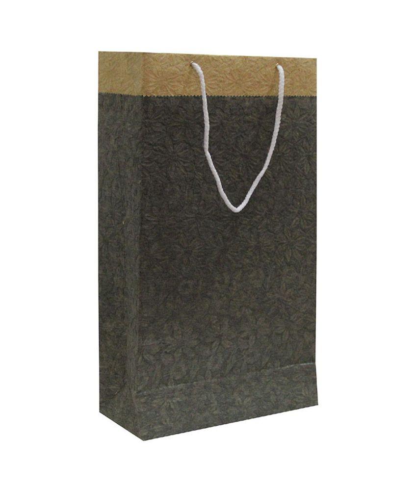 Bhanu Handmade Paper Shopping Bag - Pack Of 5 Pcs