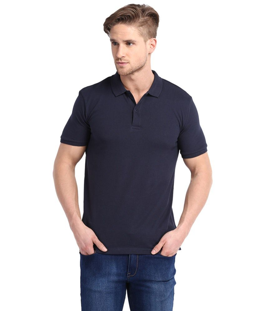 5a04a77957b Highlander Blue Cotton T shirt - Buy Highlander Blue Cotton T shirt Online  at Low Price - Snapdeal.com