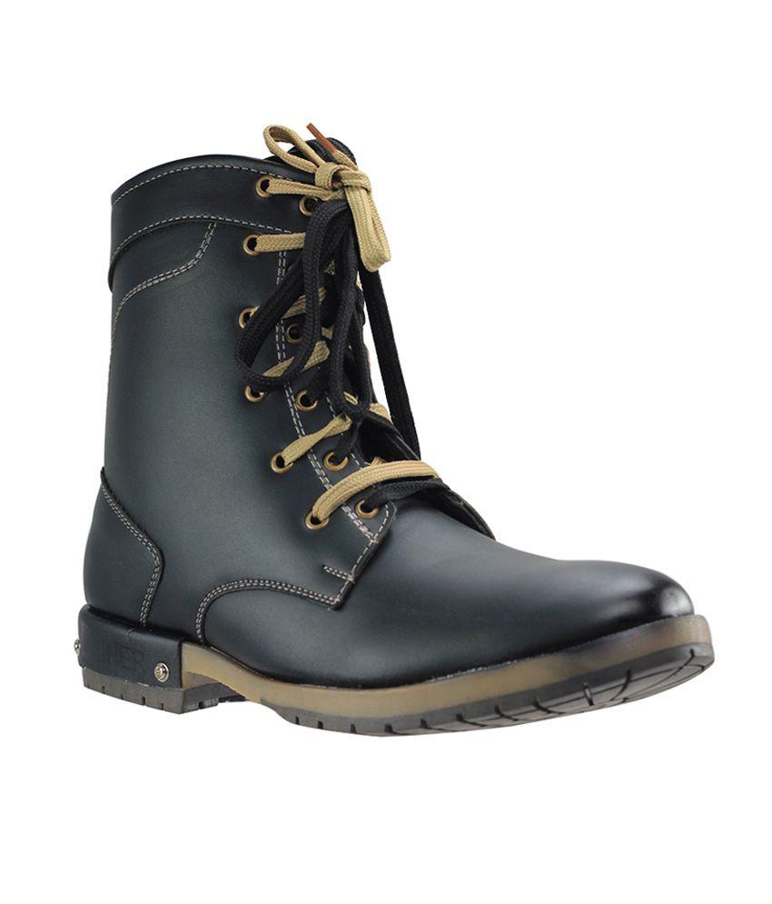 Dziner Outlook Black Men Boot