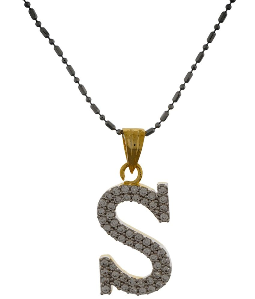 with gold letter necklace rose pendant pendants necklaces and s diamond image detail