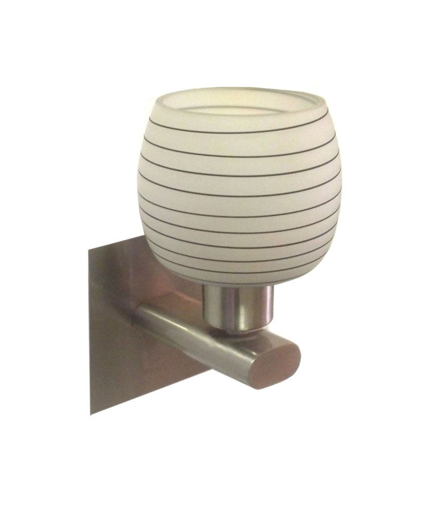 Wall Lamps On Snapdeal : Arihant Lite Off-white Glass Wall Lights: Buy Arihant Lite Off-white Glass Wall Lights at Best ...