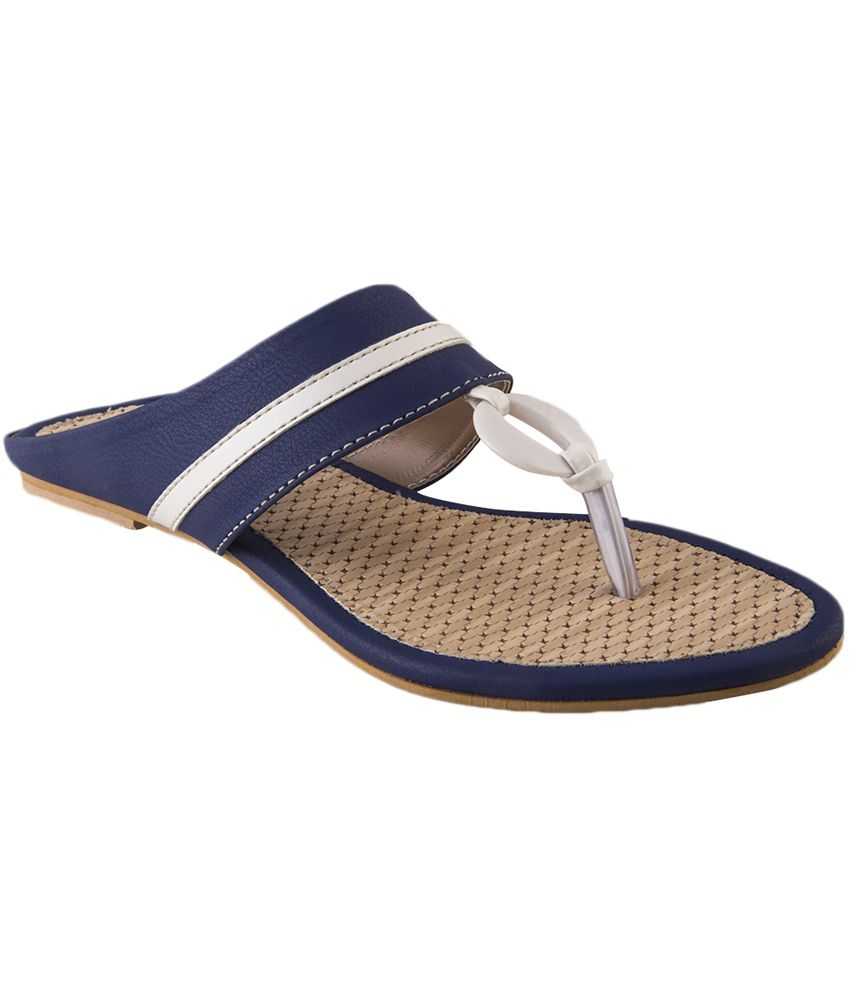 Exotica Blue Comfortable Woman Sandal