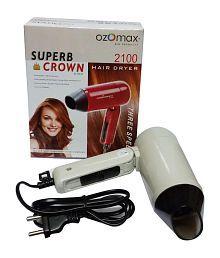 Ozomax Superb Crown Hair Dryer White