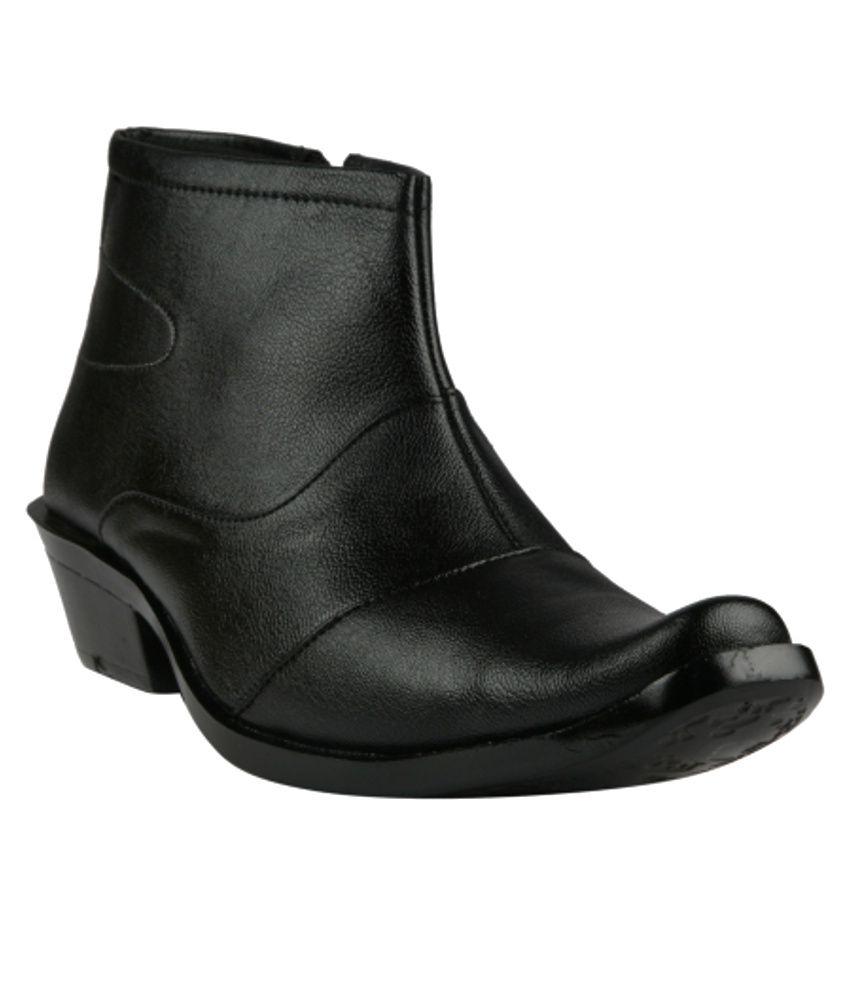 Swagonn Black Boots