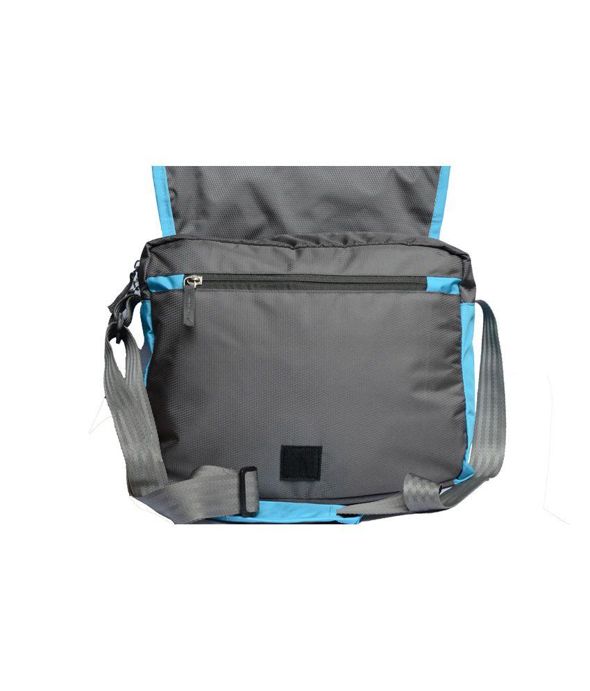 Yark Blue Polyester Sling Bag - Buy Yark Blue Polyester Sling Bag ...