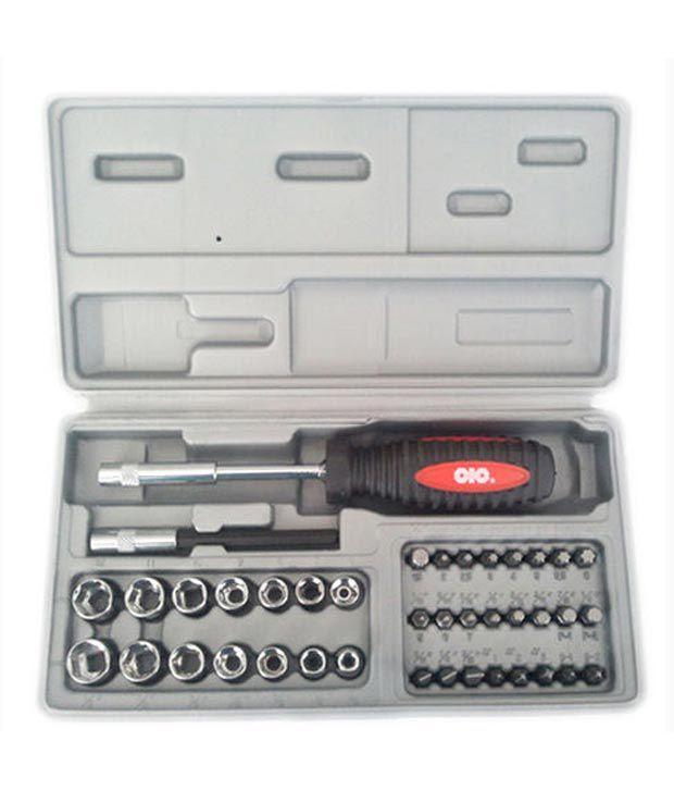 dhan distributors cic tool kit set multi bit socket screwdriver set for laptop 41pc buy. Black Bedroom Furniture Sets. Home Design Ideas