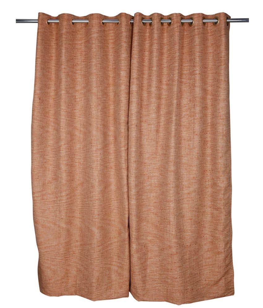 Just Linen Single Door Eyelet Curtain