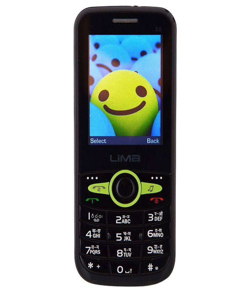 Lima Gsm Dual Sim Spd X8 Ferari Green