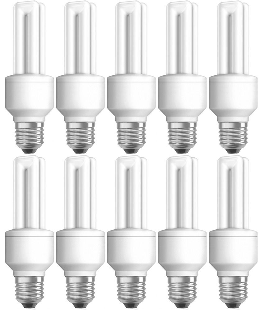 osram dulux star t4 11w 827 e27 cfl lamp set of 10 buy osram dulux star t4 11w 827 e27 cfl. Black Bedroom Furniture Sets. Home Design Ideas
