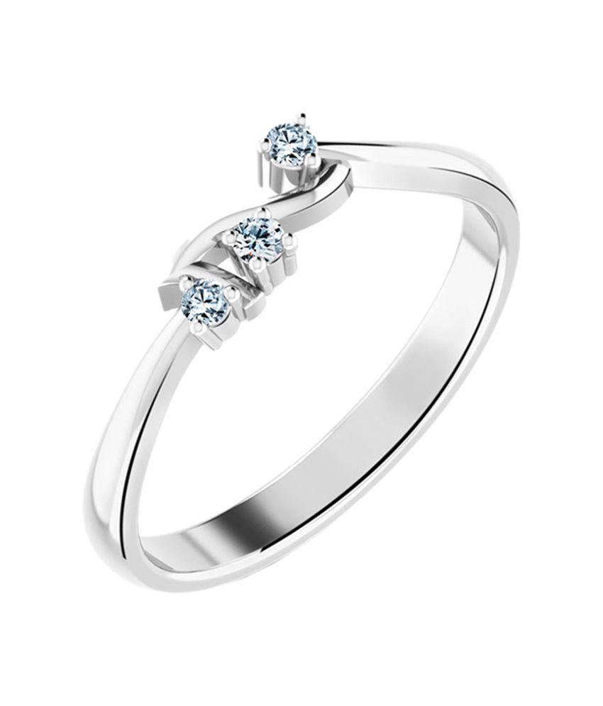 Caratlane Stylish Crown Ring