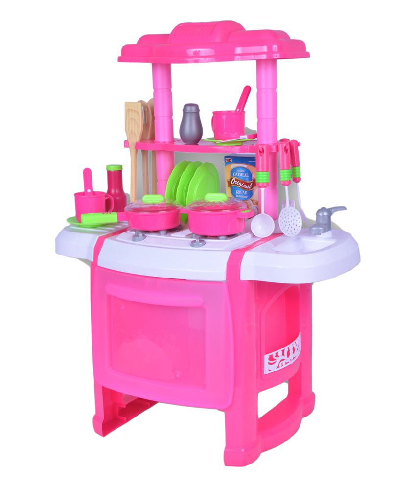 Kitchen Set Toys Price: First Toy Battery Operated Kitchen Set With Light And