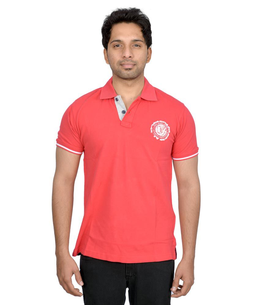 Pepe Jeans London Stylish Quote Striped T Shirt -red