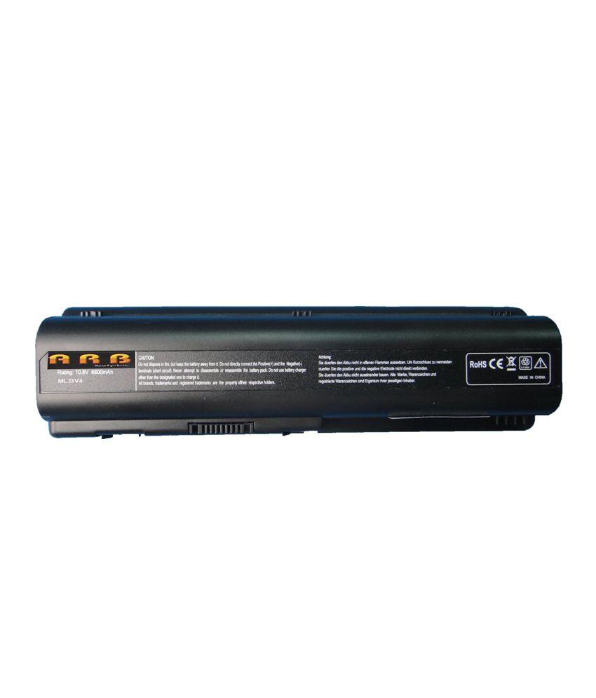 Arb Laptop Battery For Hp Pavilion Dv6-1110ez With 12 Cells