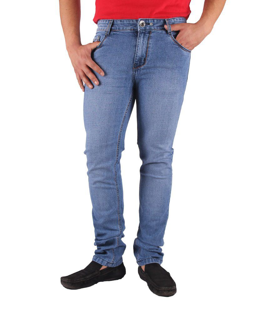 Gasconade Light Blue Slim Fitted Jeans