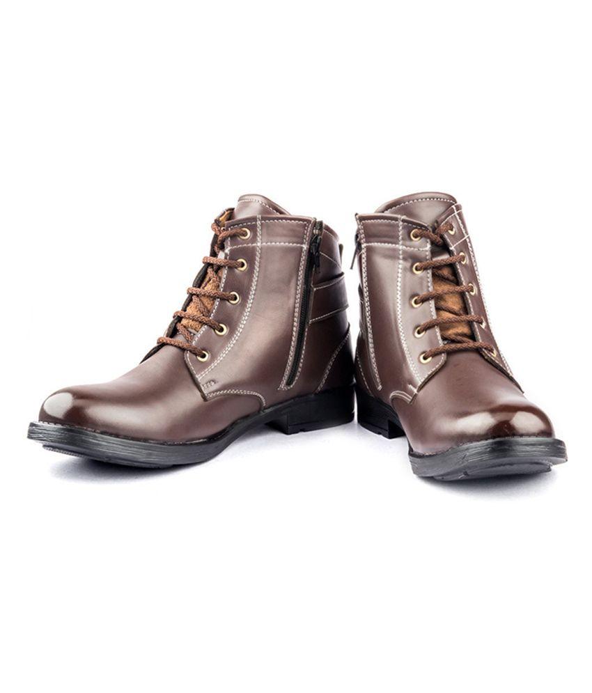 Derby Kohinoor Stylish Brown Boots