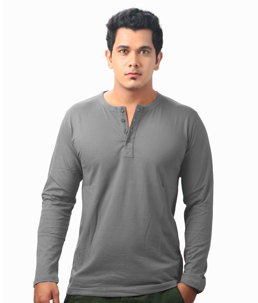 Krook Cotton Henley T Shirt