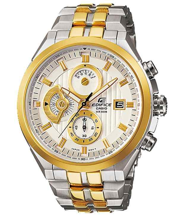 f9f6da83004 Men Fashion ED426 Silver and Gold Chronograph Wrist Watch - Buy Men Fashion  ED426 Silver and Gold Chronograph Wrist Watch Online at Best Prices in  India on ...