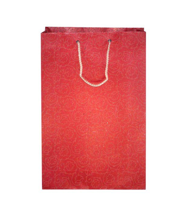 R S Jewels Paper Bag - Pack Of 5
