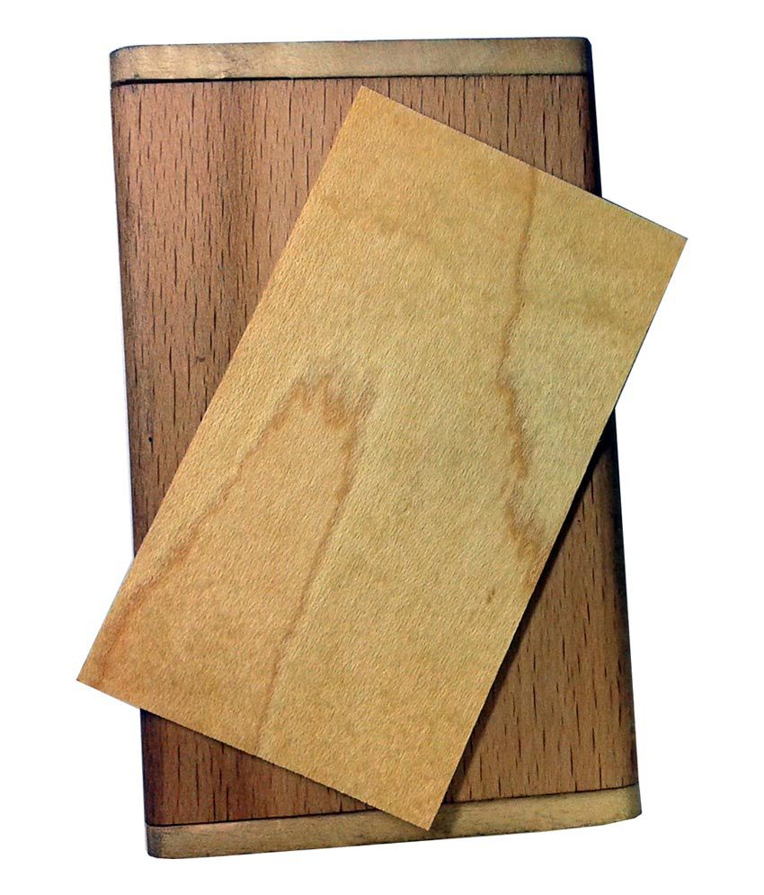 Dipac wooden visiting card holder with 100 nos blank wooden business dipac wooden visiting card holder with 100 nos blank wooden business cards reheart Gallery