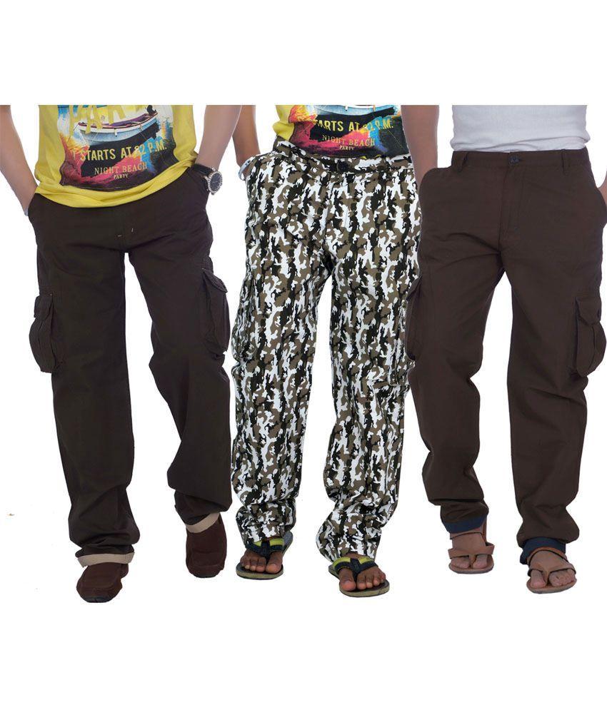True Fashion Mens Cargo Pant