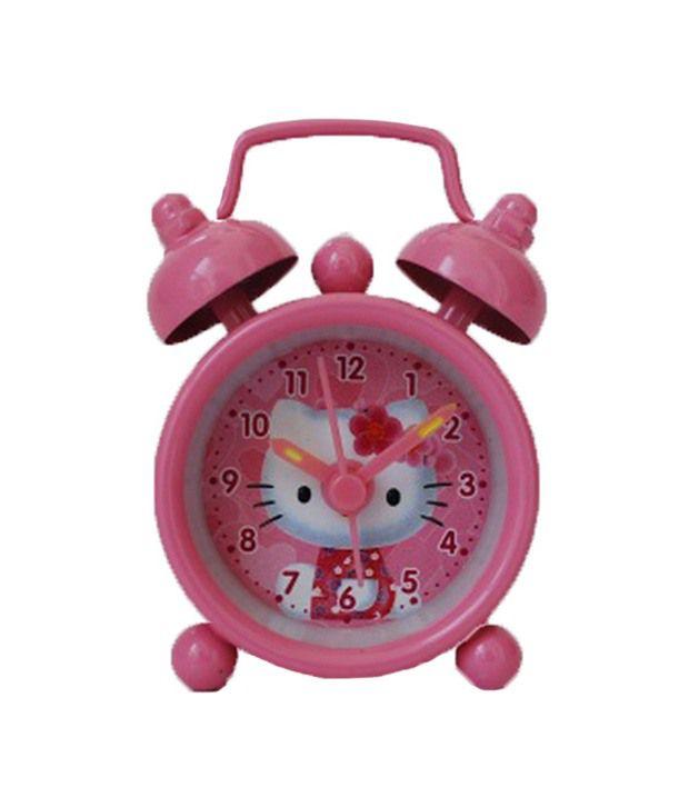 Rexus hello kitty kids pink alarm clock price in india buy rexus hello kitty kids pink alarm - Unique alarm clocks for teenagers ...