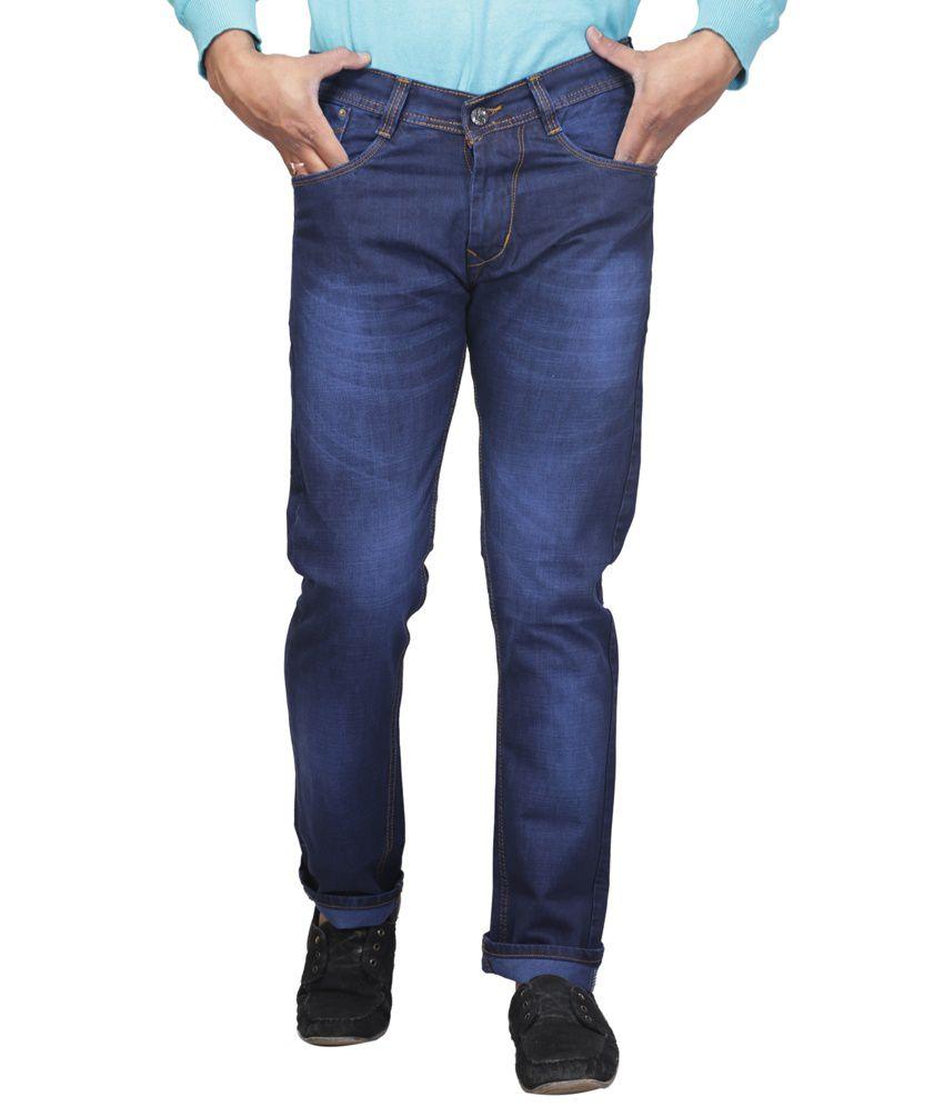 X-cross Blue Streachable Jeans