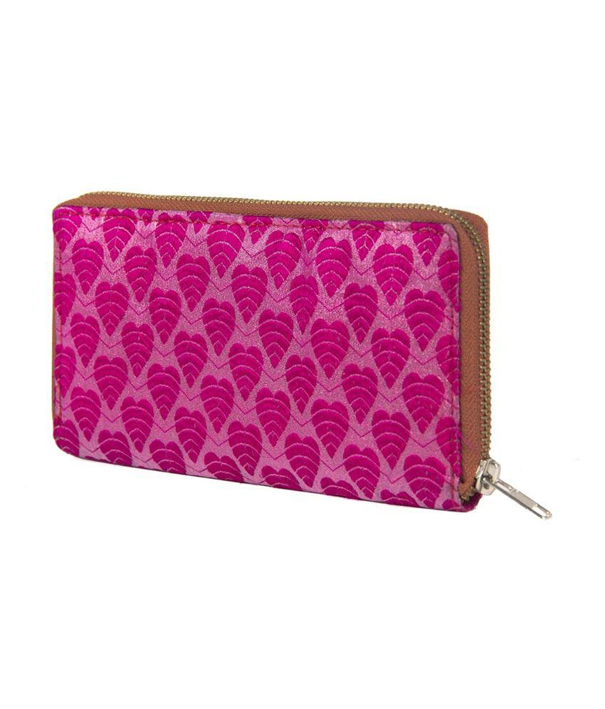 The Kala Shop Trendy Pink Women's Clutch