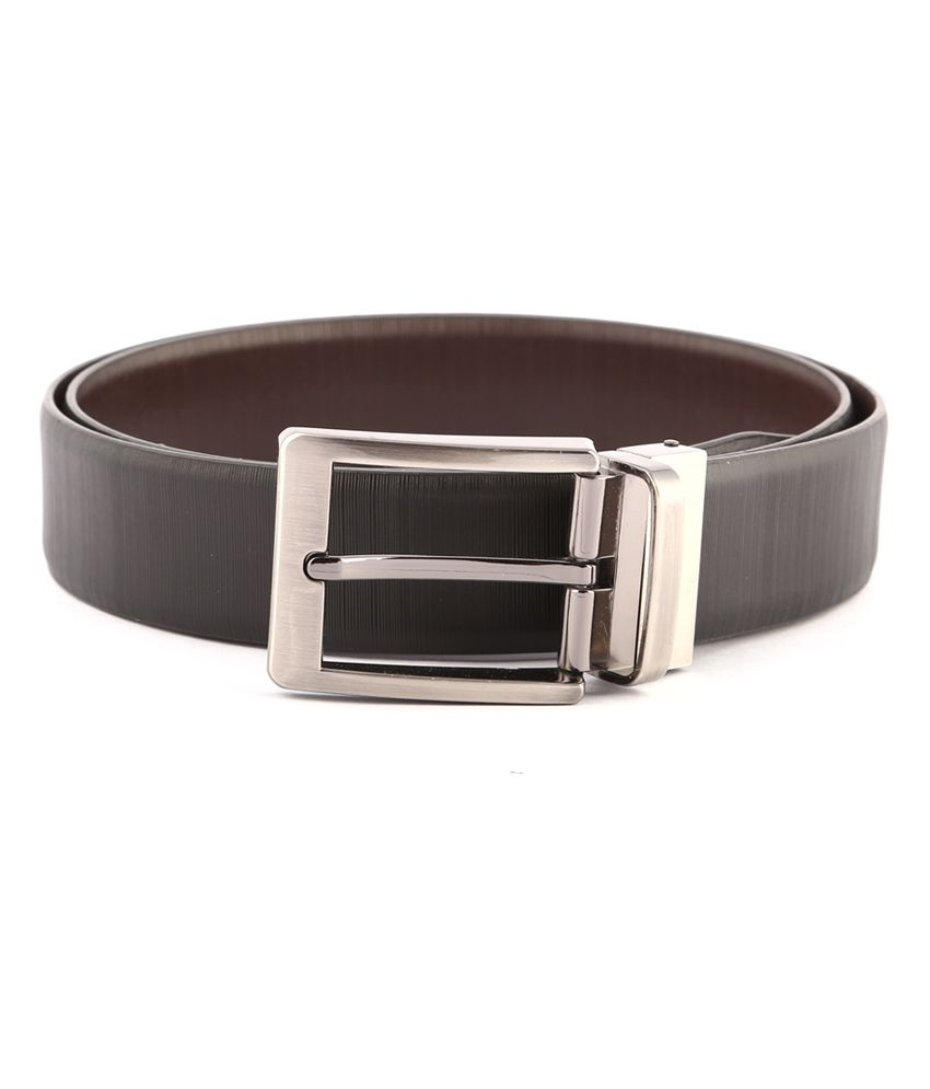 Buckleup Black Leather Single Pin Buckle Formal Belt For Men