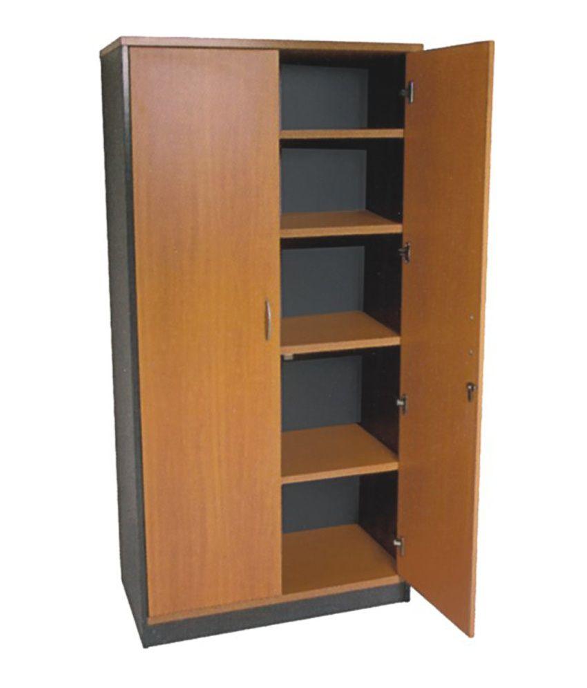 Pasco Wooden Almirah Brown Buy Online At Best Price In: pictures of wooden almirahs