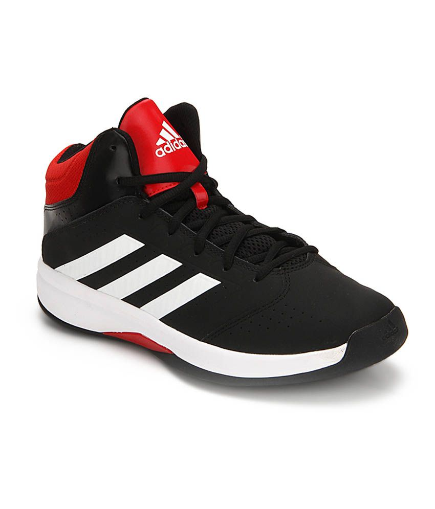 06cb7458084f Adidas Isolation 2 Black Basketball Shoes - Buy Adidas Isolation 2 Black  Basketball Shoes Online at Best Prices in India on Snapdeal