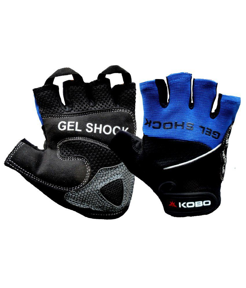 Buy leather hand gloves online india - Kobo Leather Bike Gloves