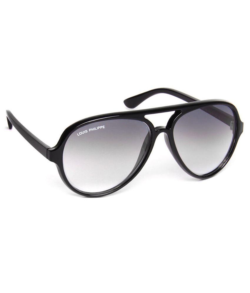 Louis Philippe Lp246 C4 Medium Unisex Aviator Sunglasses