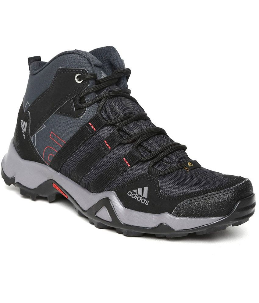 ad327684aade Adidas Black Outdoor Shoes - Buy Adidas Black Outdoor Shoes Online at Best  Prices in India on Snapdeal
