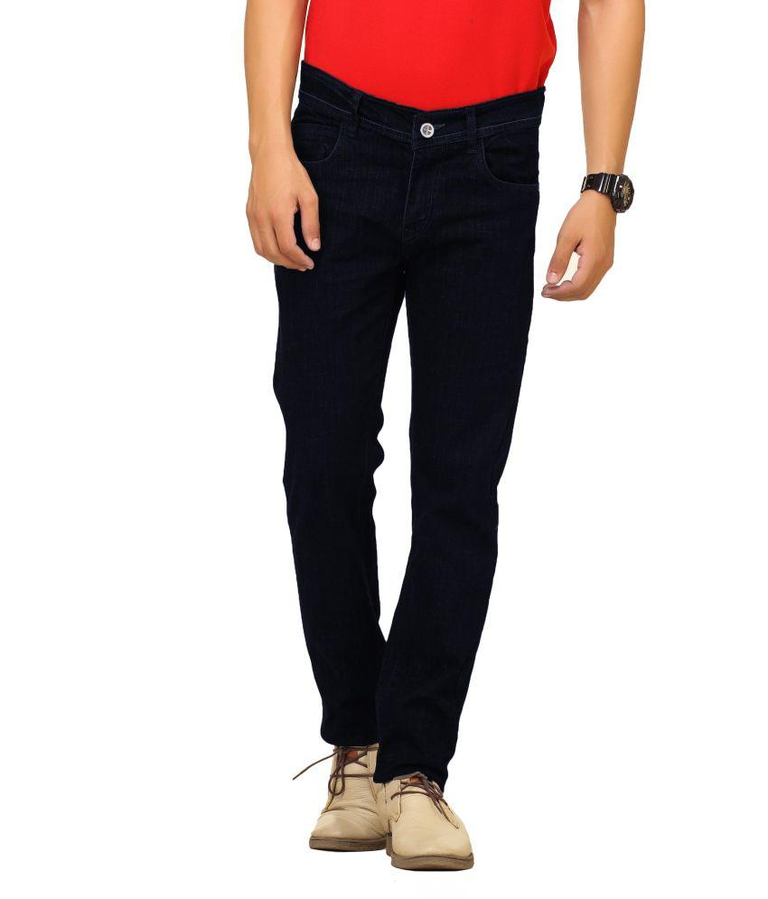 Cottinfab Black Cotton Jeans