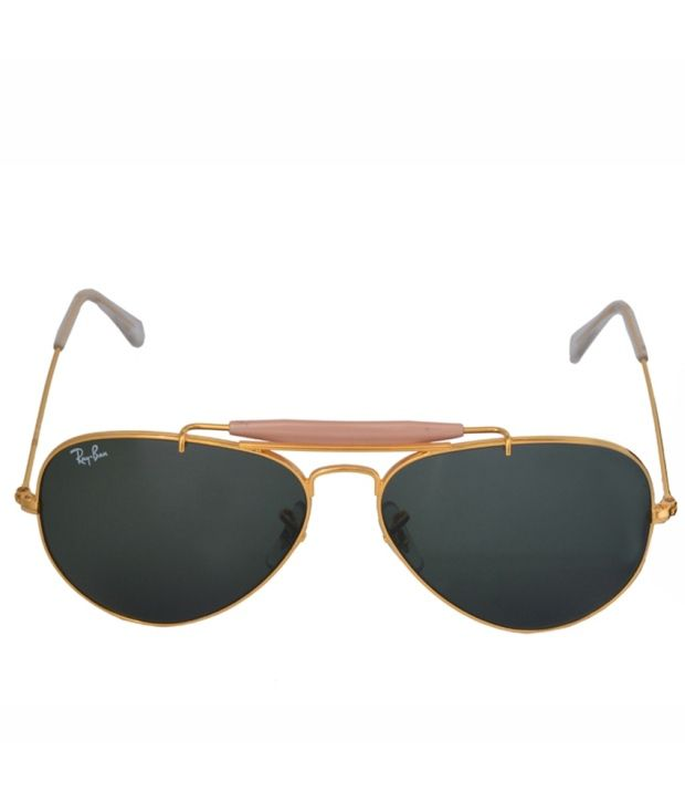 ray ban aviator sunglasses price  Ray-Ban Green Aviator Sunglasses 0RB3129 - Buy Ray-Ban Green ...